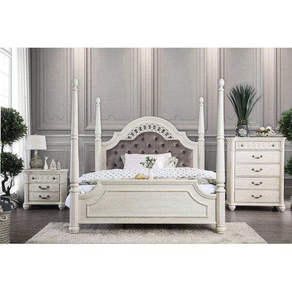 Aubrie Upholstered Standard Configurable Bedroom Set by Rosdorf Park