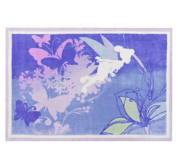 Tinkerbell Magical Silhouette Area Rug by G.A. Gertmenian & Sons