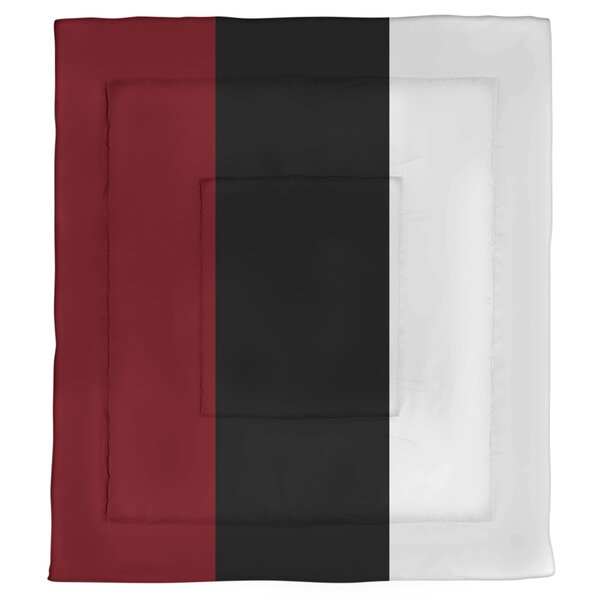 College Stripes South Carolina Microfiber Single Reversible Comforter