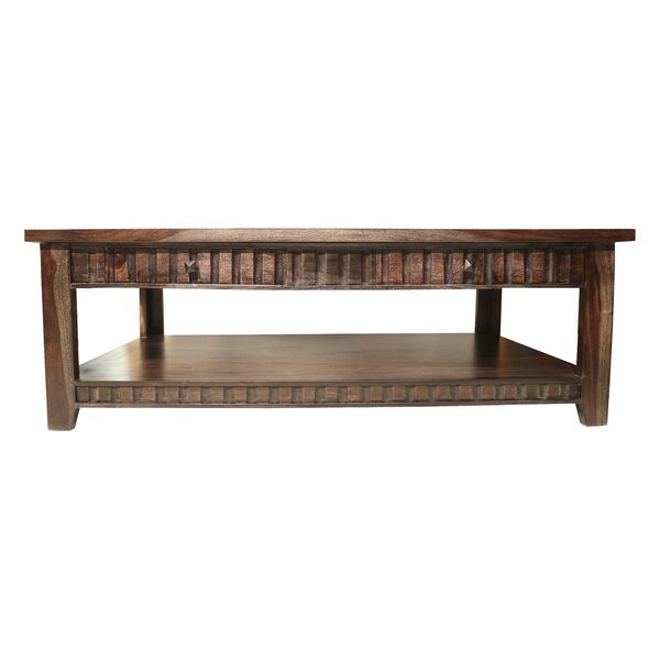 Mortenson Coffee Table with Storage by Loon Peak