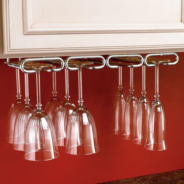 Wall Mounted Wine Glass Rack by Rev-A-Shelf