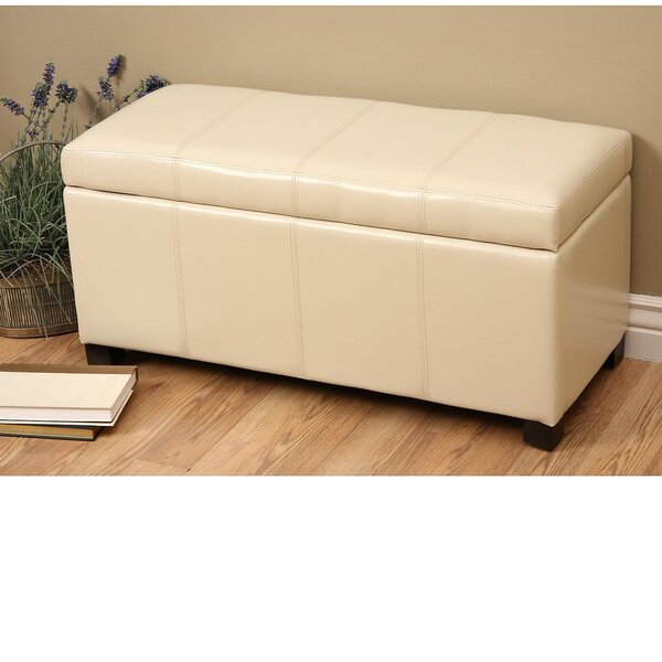 Borchardt Upholstered Storage Bench by Andover Mills