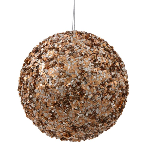 Sparkle Sequin Ball Ornament by The Holiday Aisle