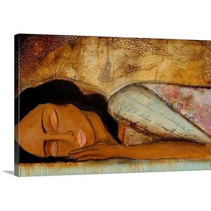 'Lost in a Day Dream' Painting Print on Canvas by Great Big Canvas