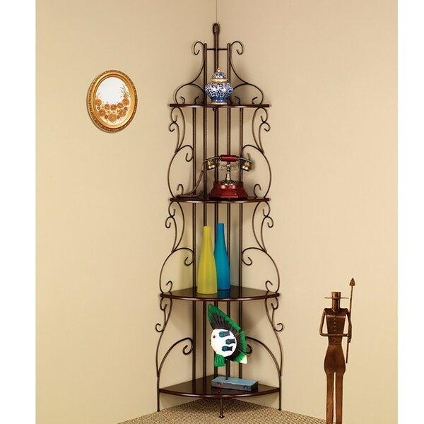 Clemmons Corner Unit Bookcase by Fleur De Lis Living