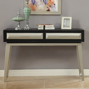 Nydia Console Table by Everly Quinn