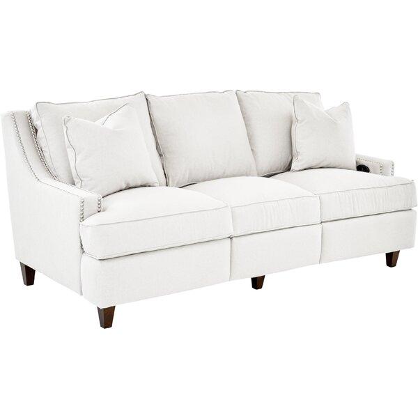 Tricia Power Hybrid Reclining Sofa by Wayfair Custom Upholstery™