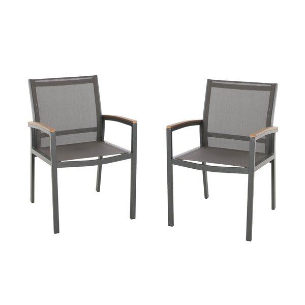 Orellana Patio Dining Chair (Set of 2) by Ebern Designs