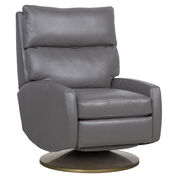 Aspire Leather Manual Wall Hugger Recliner By Fairfield Chair