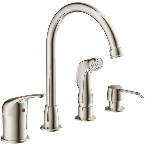 Aviera Single Handle Kitchen Faucet with Side Spray by Estora