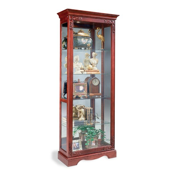 Andante Lighted Curio Cabinet by Philip Reinisch Co.
