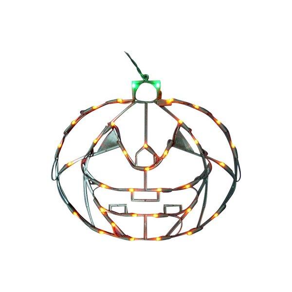 18 Halloween Pumpkin with 35 Multicolored Lights (Set of 2) by Queens of Christmas18 Halloween Pumpkin with 35 Multicolored Lights (Set of 2) by Queens of Christmas