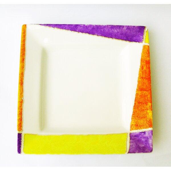 Joyful 9.8 Square Design Platter by Eva Design