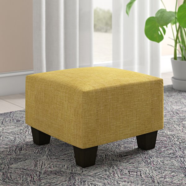 Penhook Cube Ottoman by Ebern Designs