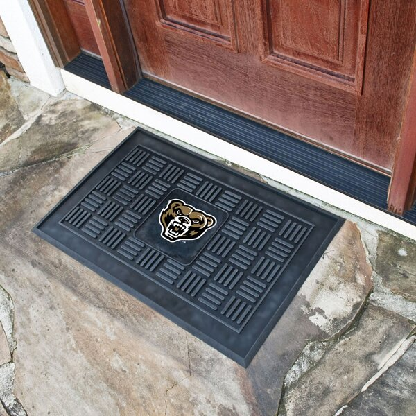 Oakland University Medallion Doormat by FANMATS