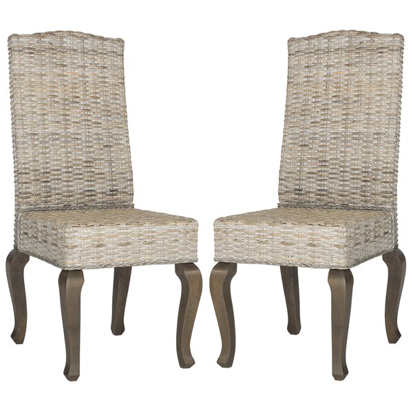 Alsace Upholstered Dining Chair (Set of 2) by One Allium Way