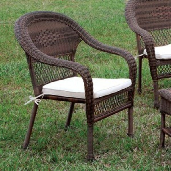 Kelloch Patio Chair with Cushions by Alcott Hill Alcott Hill
