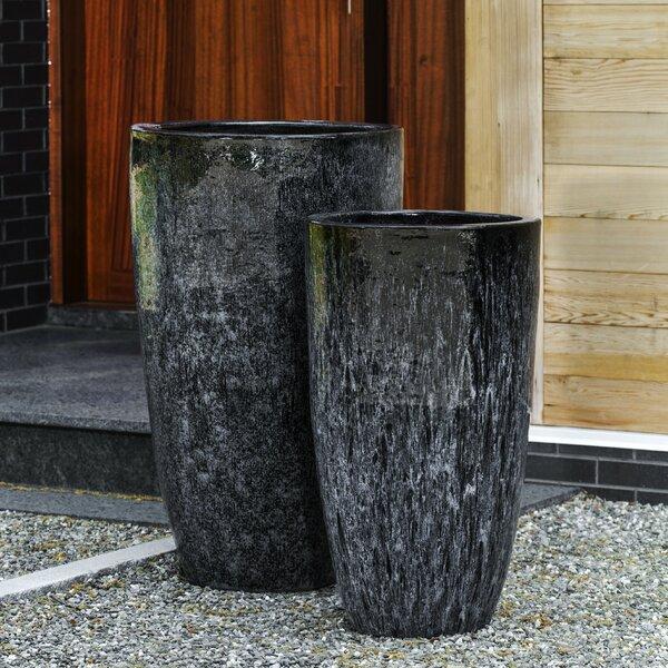 Orion 2-Piece Pot Planter Set by Campania International
