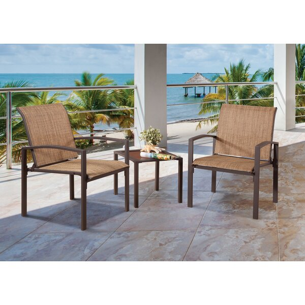 Galveston 3 Piece Dining Set by Liberty Garden Patio