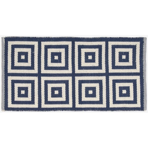 Paltrow Navy/Ivory Area Rug by Mercer41