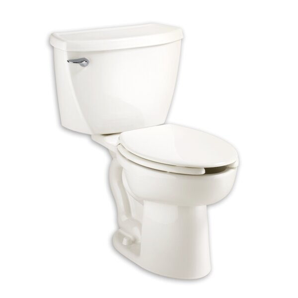 Cadet Right Height 1.1 GPF Elongated Two-Piece Toilet by American Standard