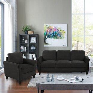 Medota 2 Piece Living Room Set by Wrought Studio™