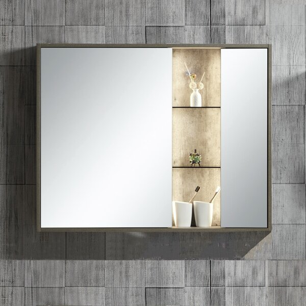 Molden 39.37 x 31 Surface Mount Medicine Cabinet with LED Lighting by Williston Forge