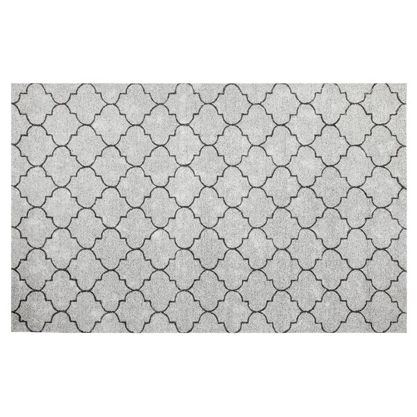 Riehl Hand-Tufted Gray Indoor/Outdoor Use Area Rug by Charlton Home