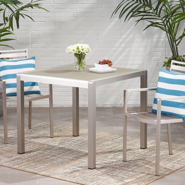 Royalston Glass Dining Table by Brayden Studio Brayden Studio