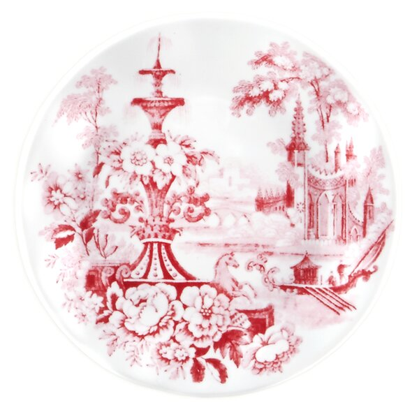Cambridge Rose 5.5 Melamine Bread and Butter Plate