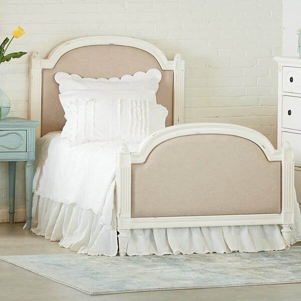 Sisters Upholstered Standard Bed by Magnolia Home