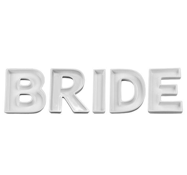 BRIDE Candy Dish (Set of 5) by Ivy Lane Design