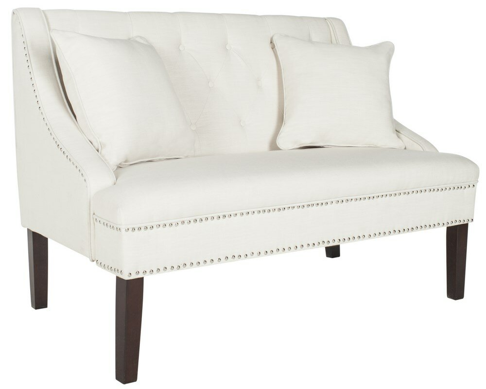 willa arlo interiors beaulah upholstered bedroom bench  reviews  - defaultname