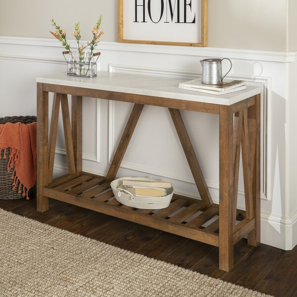 Offerman Console Table By Three Posts