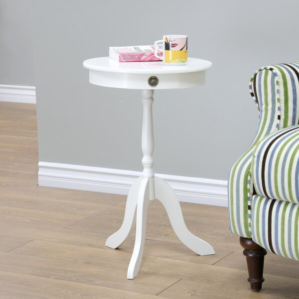 Albreda End Table by Charlton Home