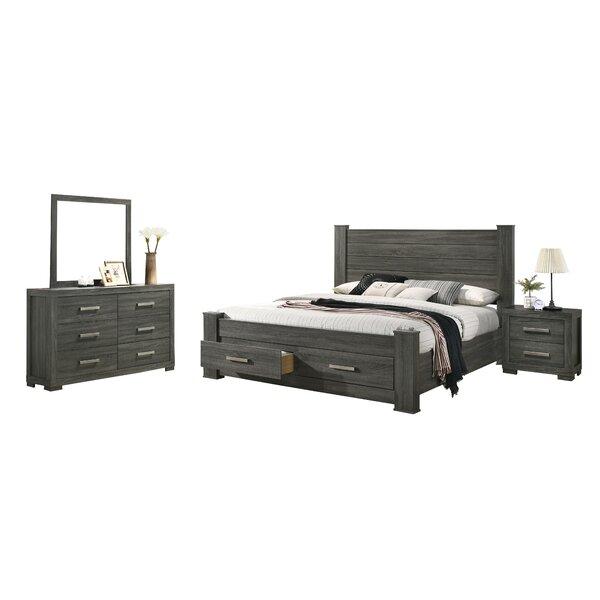 Navasart 4 Piece Bedroom Set by Ebern Designs