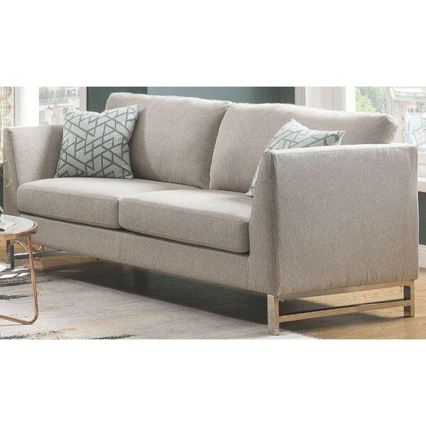 Quarry Sofa w/2 Pillows by Rosdorf Park