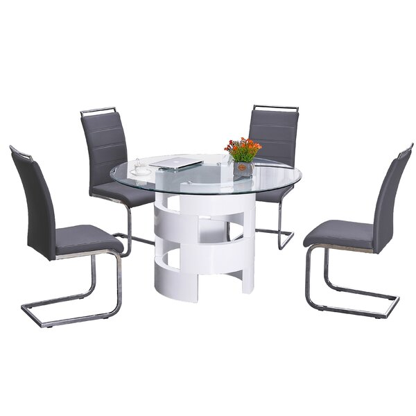 Mui 5 Piece Dining Set by Orren Ellis Orren Ellis
