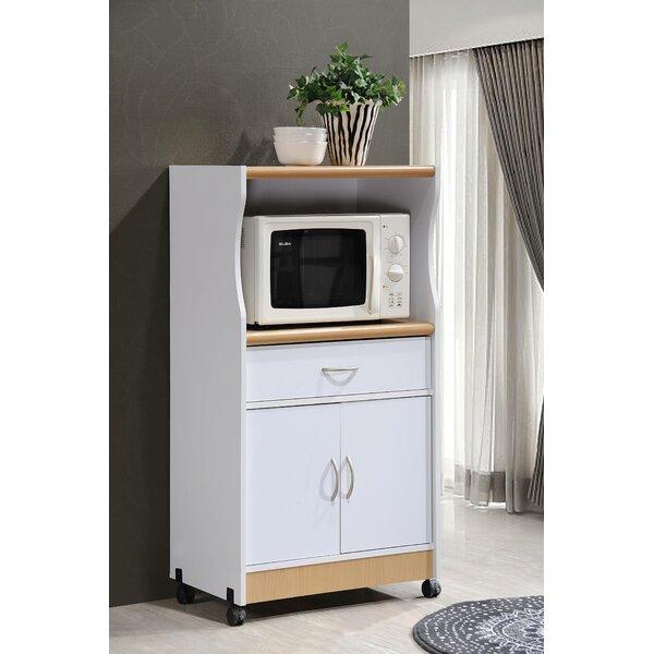 Livinia Microwave Cart by Wade Logan