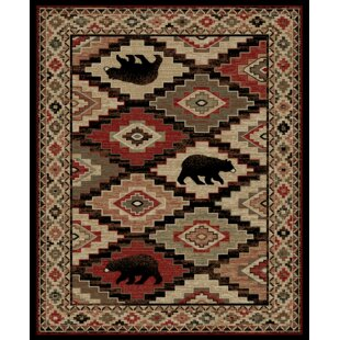 Windsor Lane Boone Brown Area Rug By Loon Peak