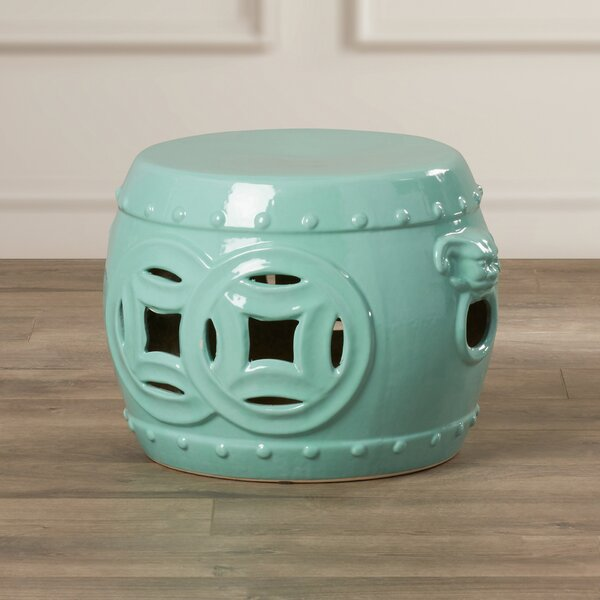 Kujawa Double Coin Garden Stool by Mistana