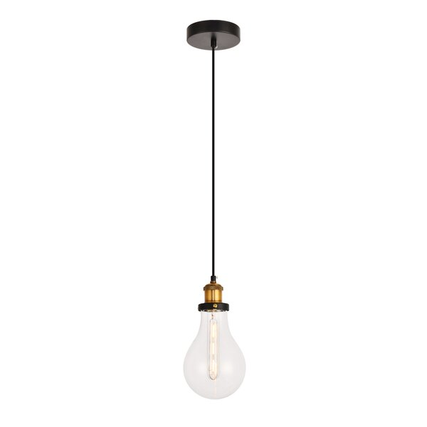 Seely 1-Light Bulb Pendant by Williston Forge