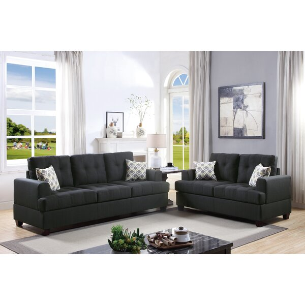 Eastway 2 Piece Living Room Set by Latitude Run