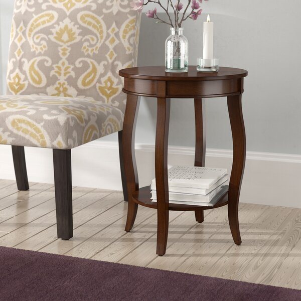 Kristian End Table by Alcott Hill