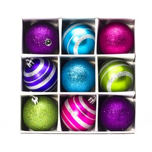 9 Piece Ornament Set (Set of 2)
