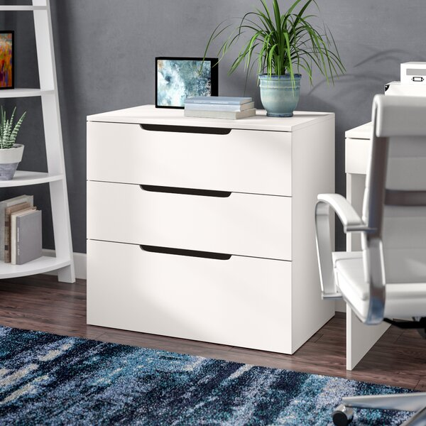 Kurtis 3-Drawer Lateral File by Latitude Run