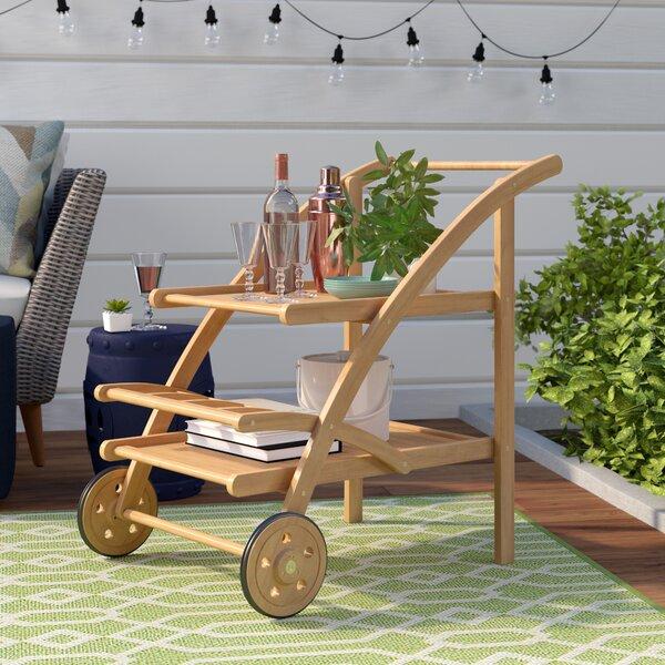 Drachten Tea Bar Serving Cart by Laurel Foundry Modern Farmhouse