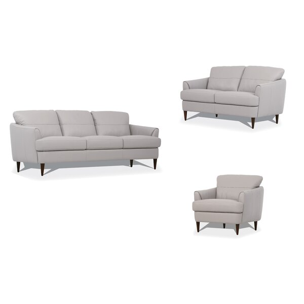 Isberga 3 Piece Living Room Set By Ebern Designs