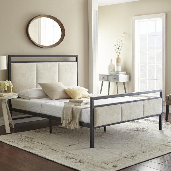 Barnell Upholstered Platform Bed by Darby Home Co