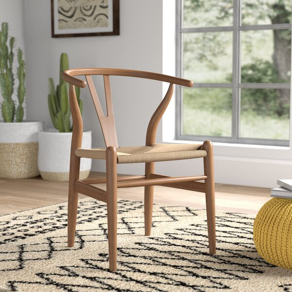Sharonda Solid Wood Dining Chair by Mistana